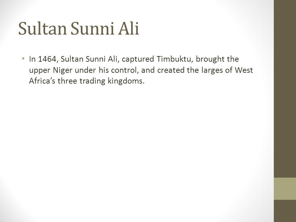 Sultan Sunni Ali