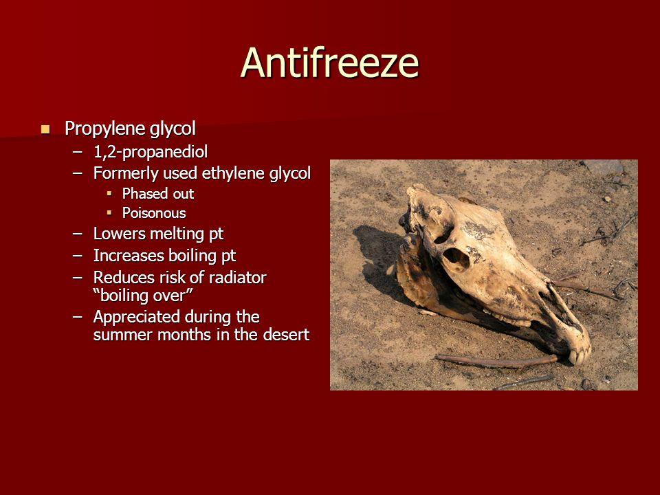 Antifreeze Propylene glycol 1,2-propanediol