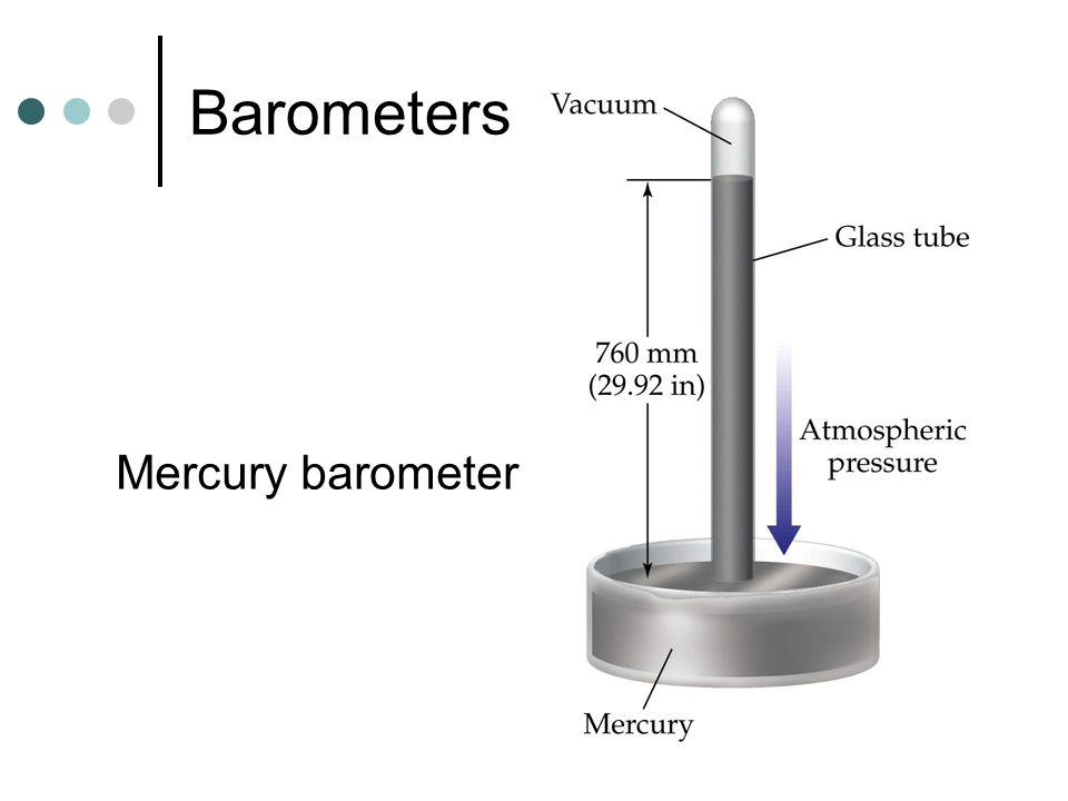 Barometers Mercury barometer