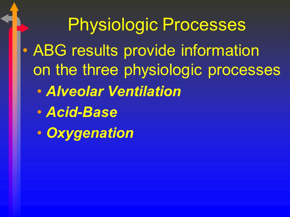 Physiologic Processes