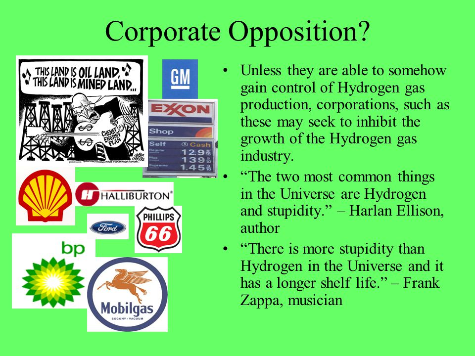 Corporate Opposition