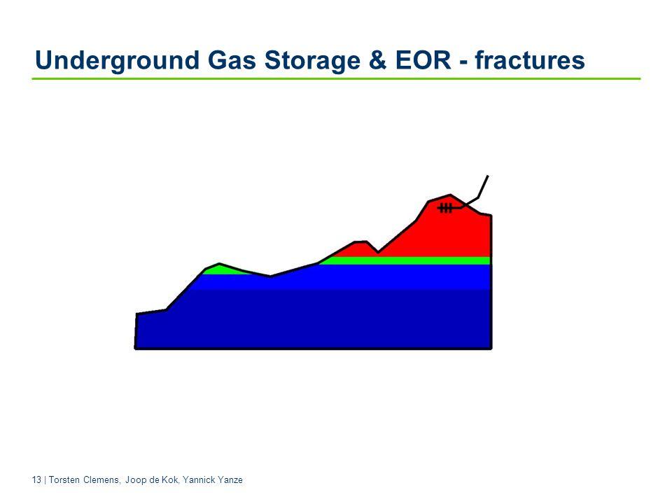 Underground Gas Storage & EOR - fractures