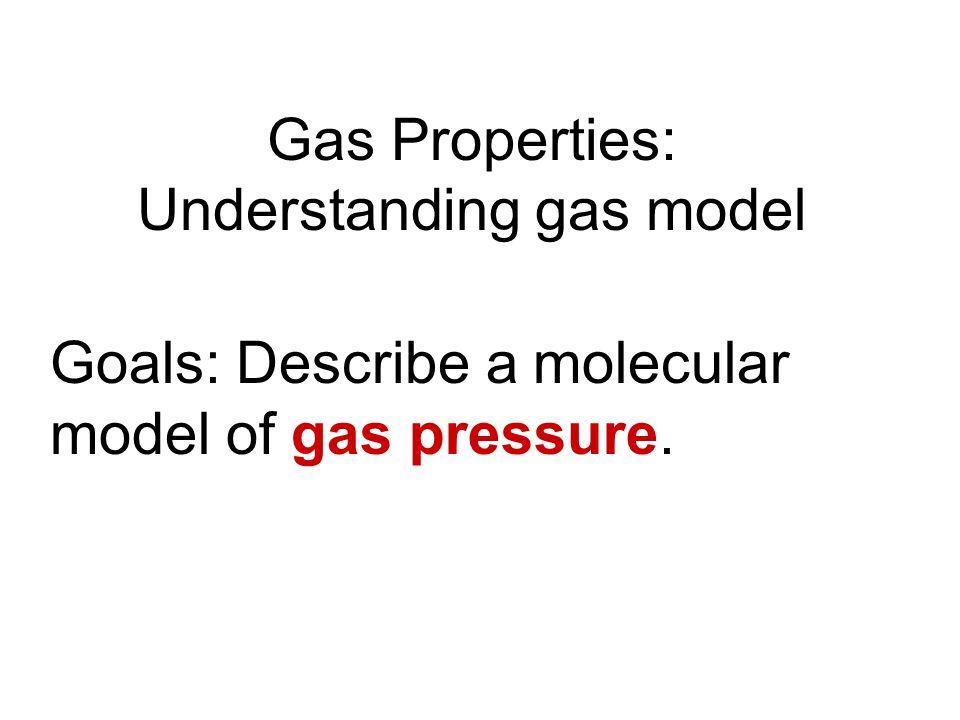 Gas Properties: Understanding gas model