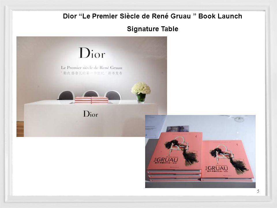 Dior Le Premier Siècle de René Gruau Book Launch