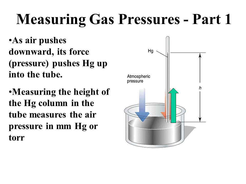 Measuring Gas Pressures - Part 1