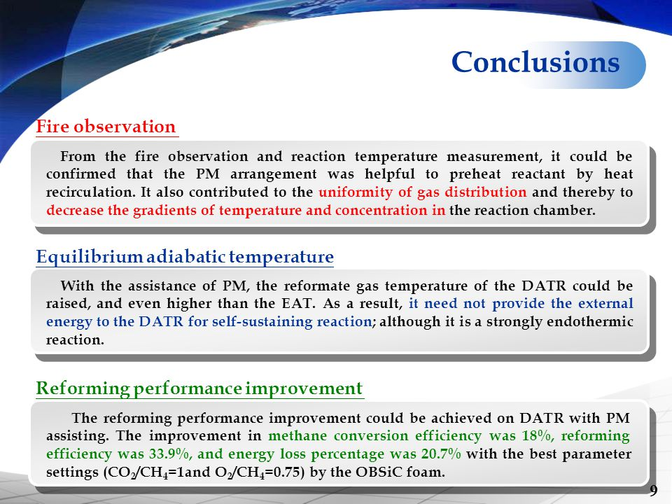 Conclusions Fire observation Equilibrium adiabatic temperature