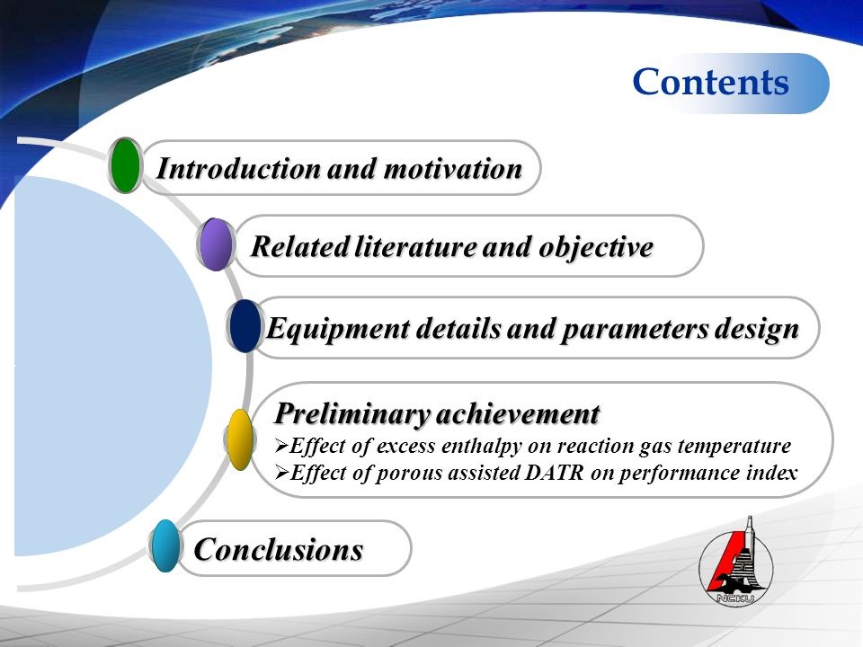 Contents Conclusions Introduction and motivation