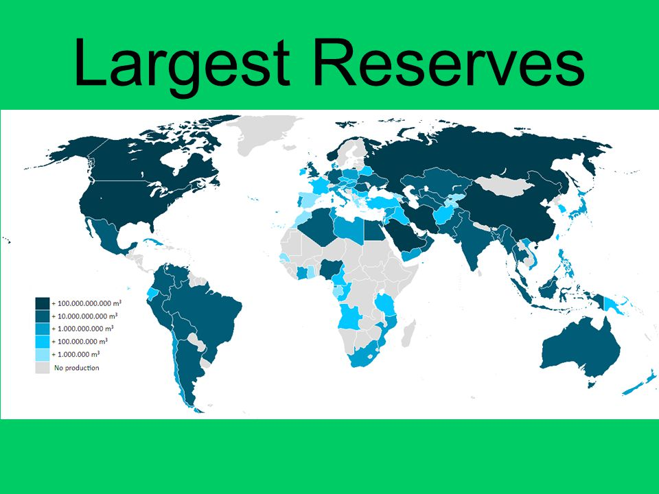 Largest Reserves