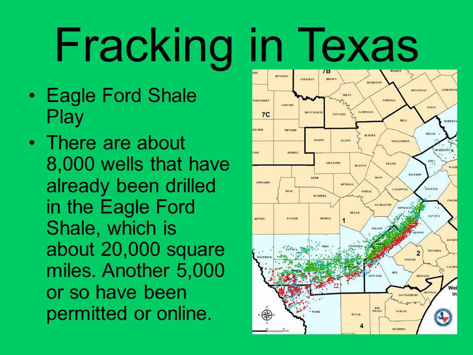 Fracking in Texas Eagle Ford Shale Play