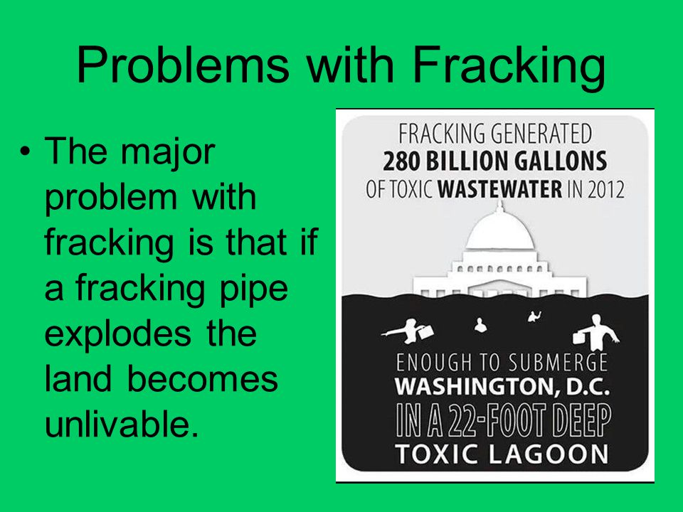 Problems with Fracking