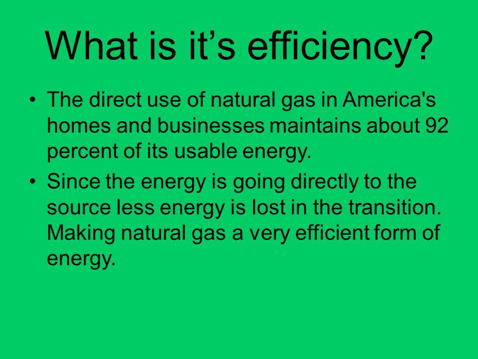 What is it's efficiency