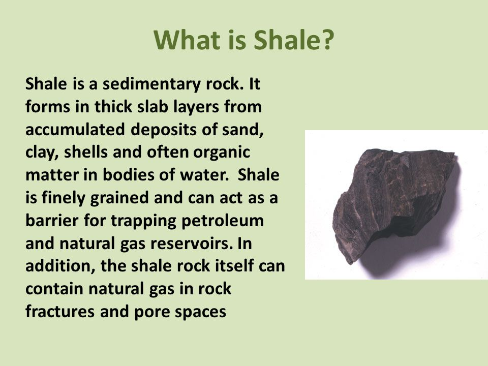 What is Shale