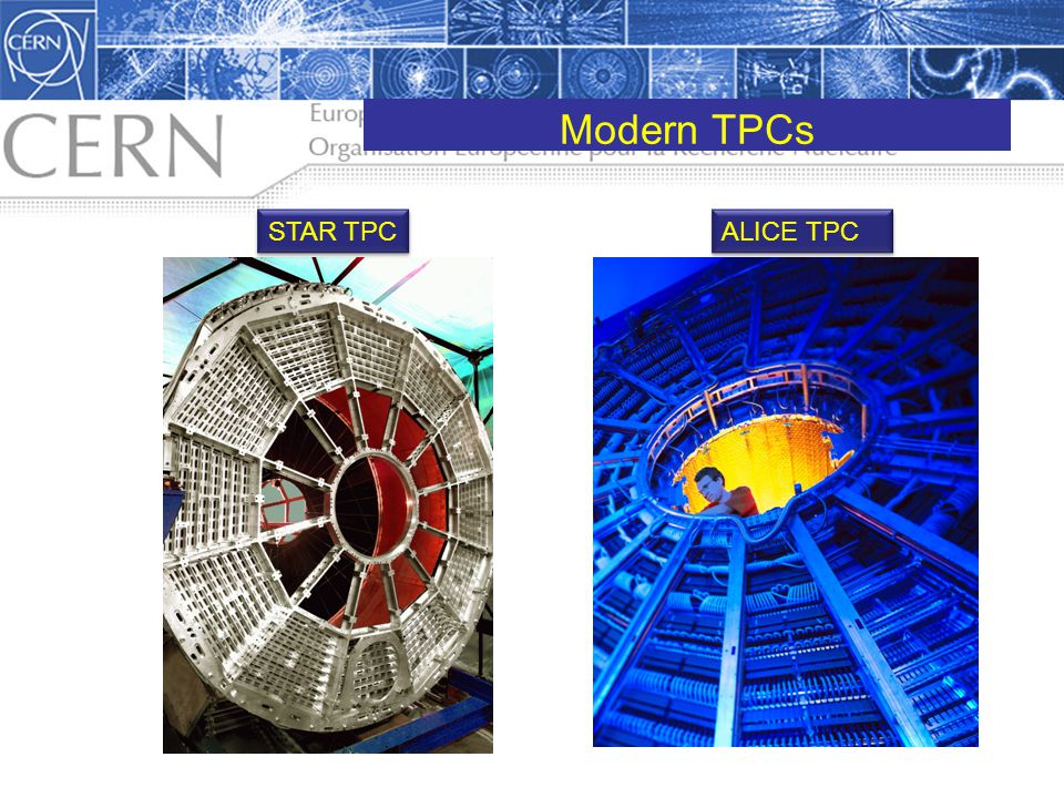 Modern TPCs STAR TPC ALICE TPC