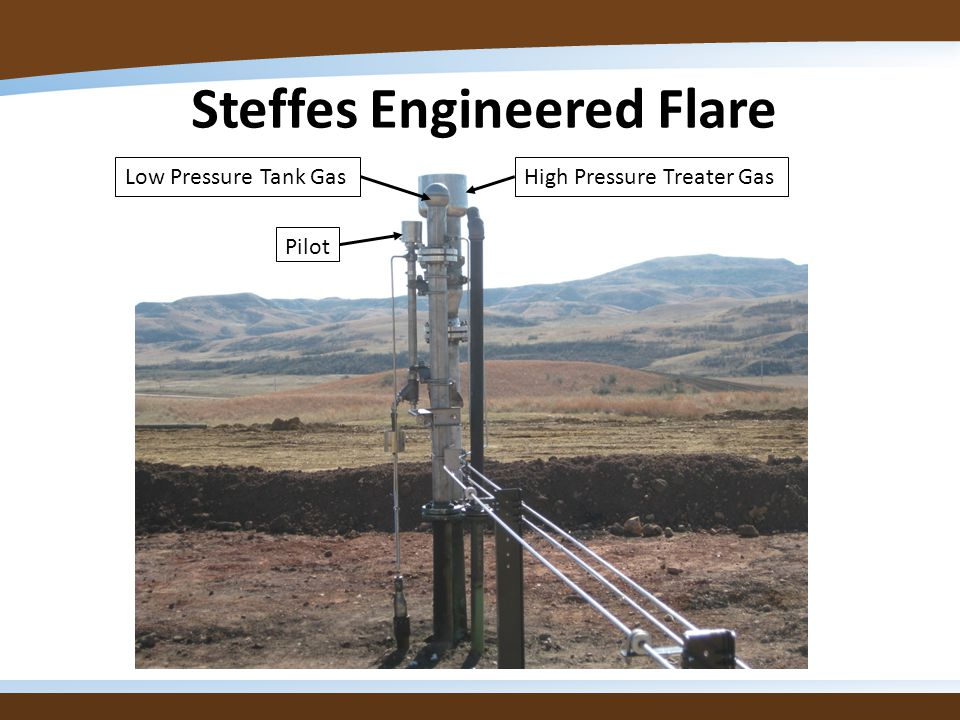 Steffes Engineered Flare