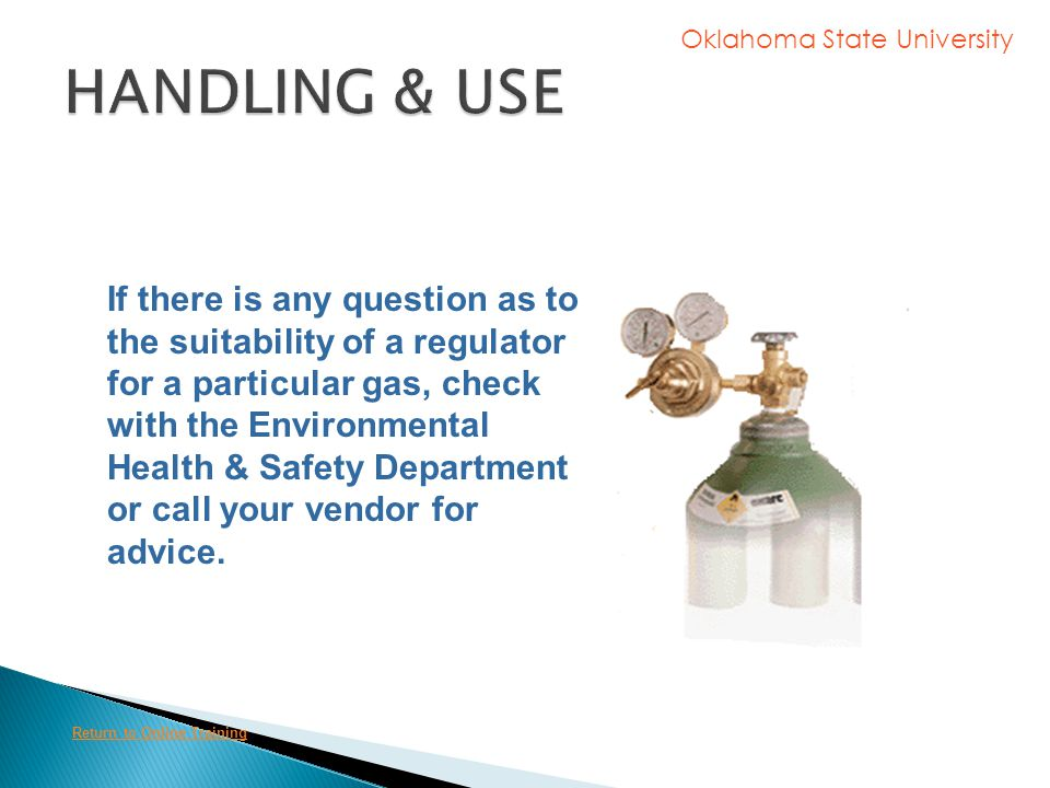 HANDLING & USE