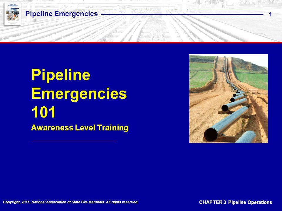 Pipeline Emergencies 101 Awareness Level Training