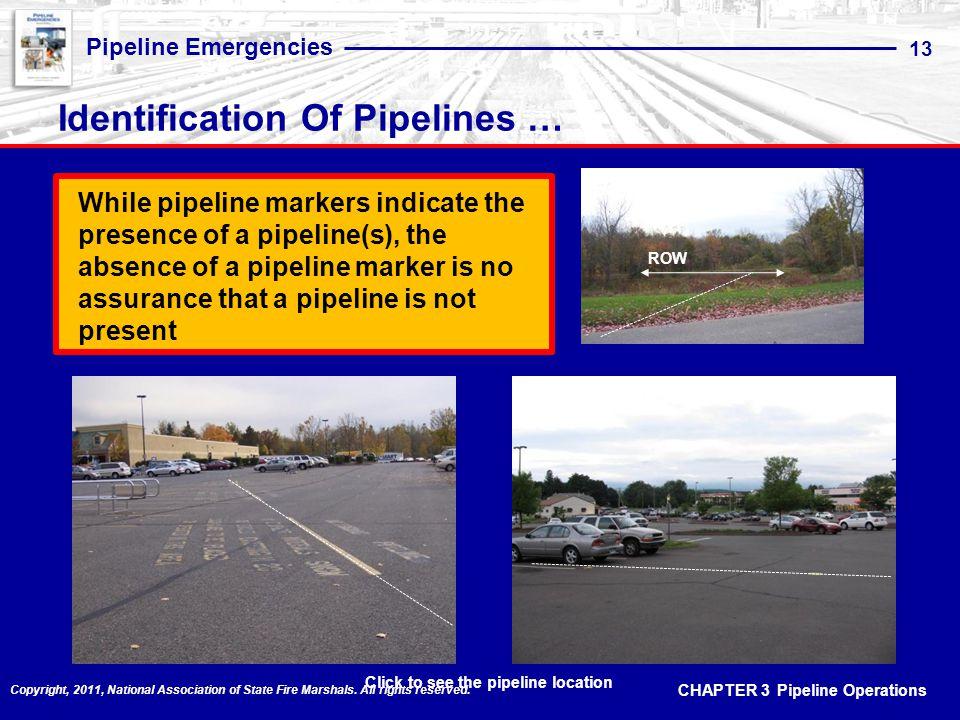 Identification Of Pipelines …