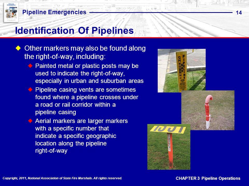 Identification Of Pipelines