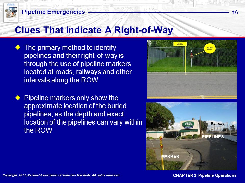 Clues That Indicate A Right-of-Way