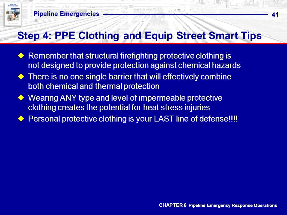 Step 4: PPE Clothing and Equip Street Smart Tips