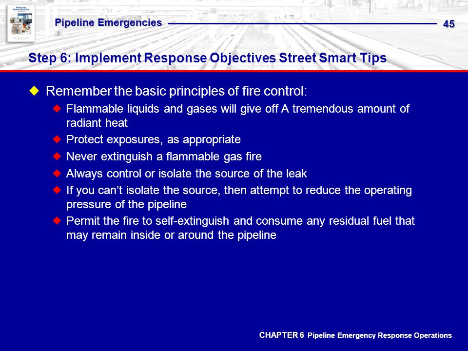 Step 6: Implement Response Objectives Street Smart Tips