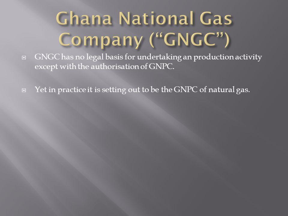 Ghana National Gas Company ( GNGC )
