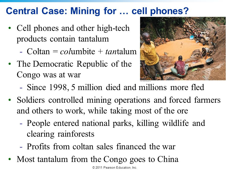 Central Case: Mining for … cell phones