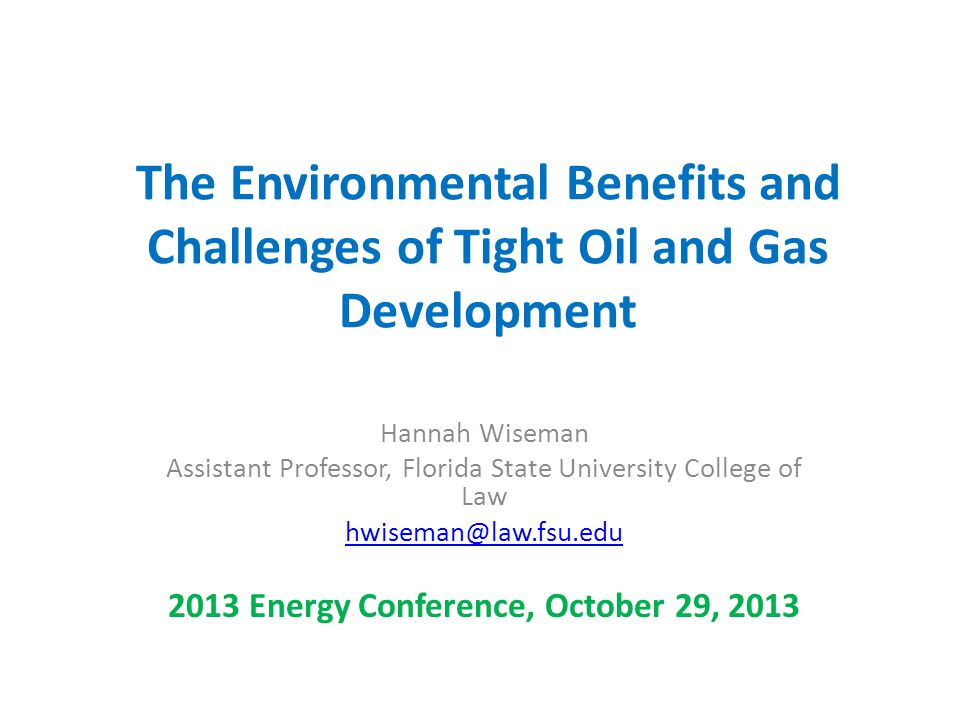 2013 Energy Conference, October 29, 2013