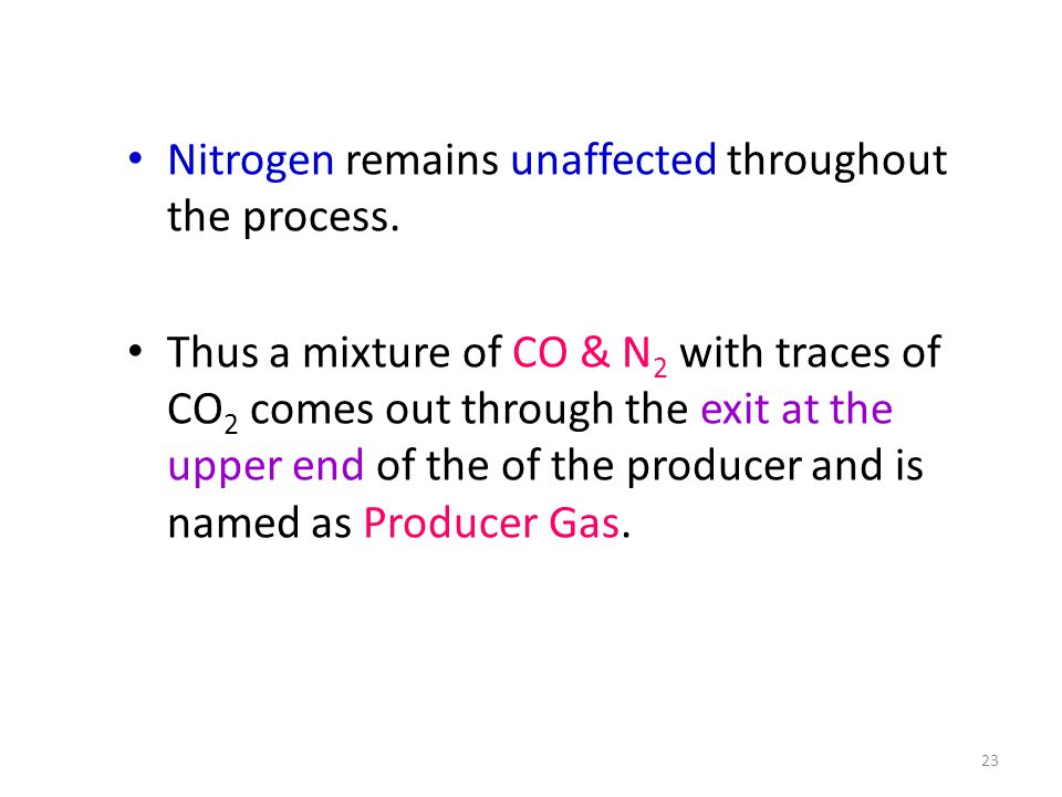 Nitrogen remains unaffected throughout the process.