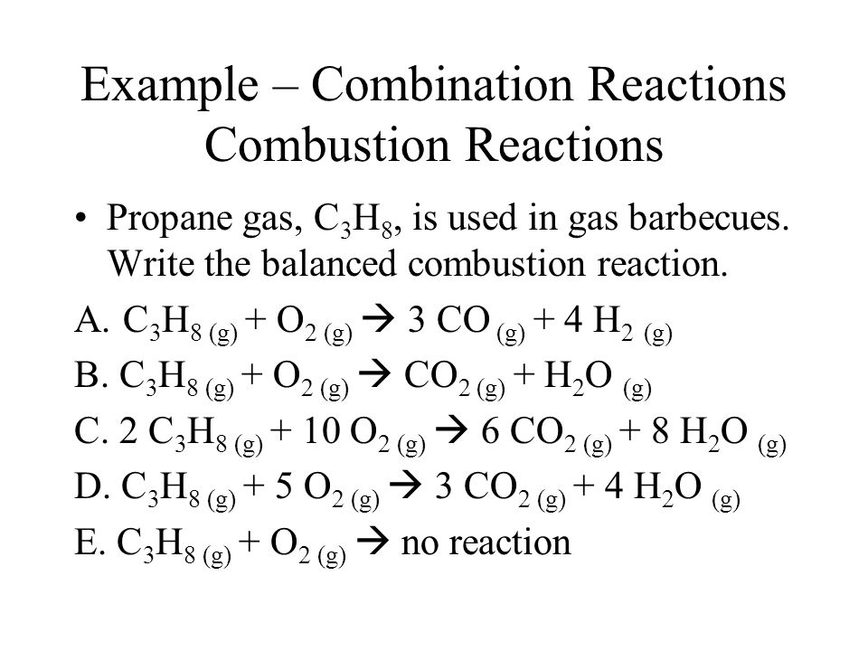 Write The Balanced Chemical Equation For Complete Combustion Of – Combustion Reactions Worksheet