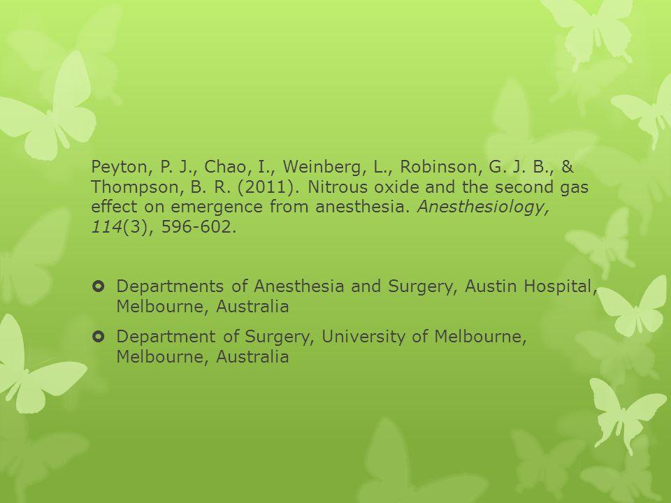 Department of Surgery, University of Melbourne, Melbourne, Australia