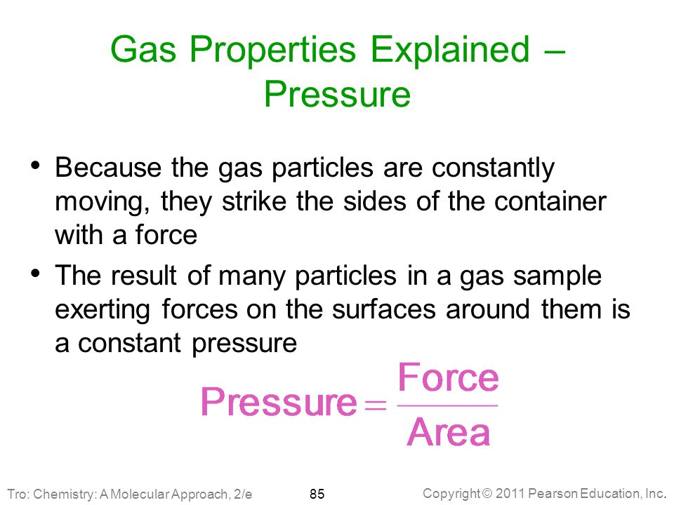 Gas Properties Explained – Pressure