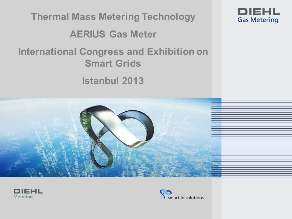 Thermal Mass Metering Technology AERIUS Gas Meter