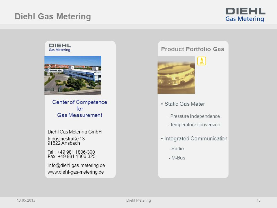Center of Competence for Gas Measurement