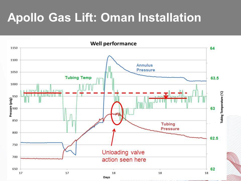 Apollo Gas Lift: Oman Installation