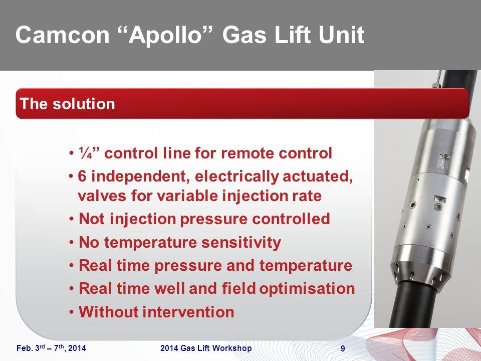 Camcon Apollo Gas Lift Unit
