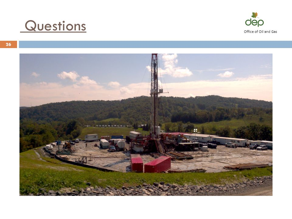 Office of Oil and Gas Questions
