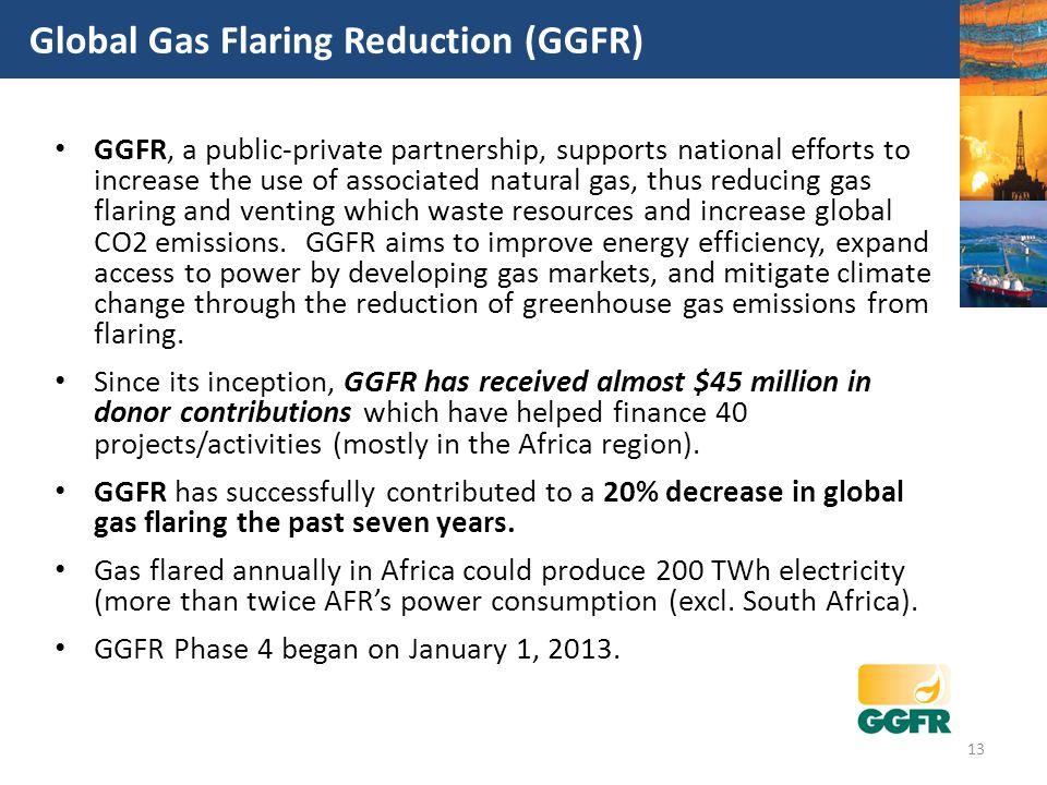 Global Gas Flaring Reduction (GGFR)