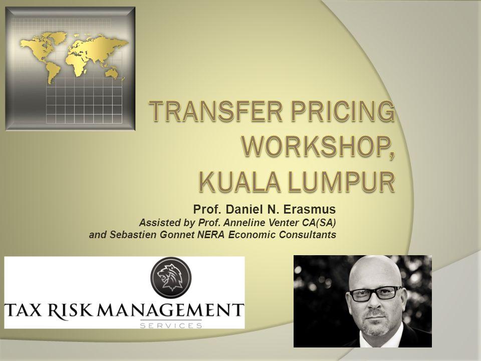TRANSFER PRICING WORKSHOP, KUALA LUMPUR