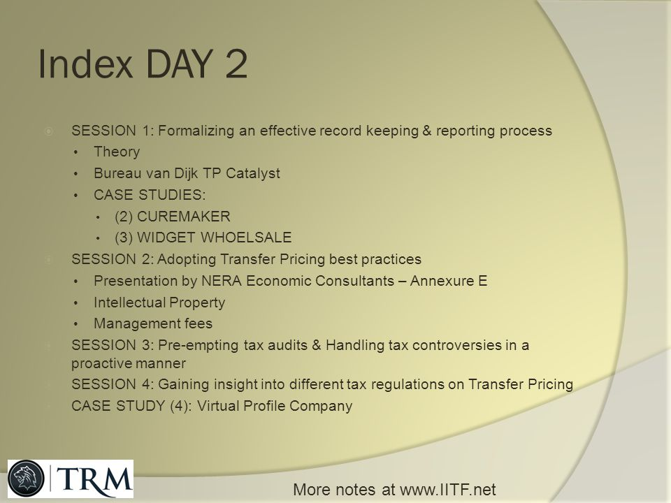 Index DAY 2 More notes at