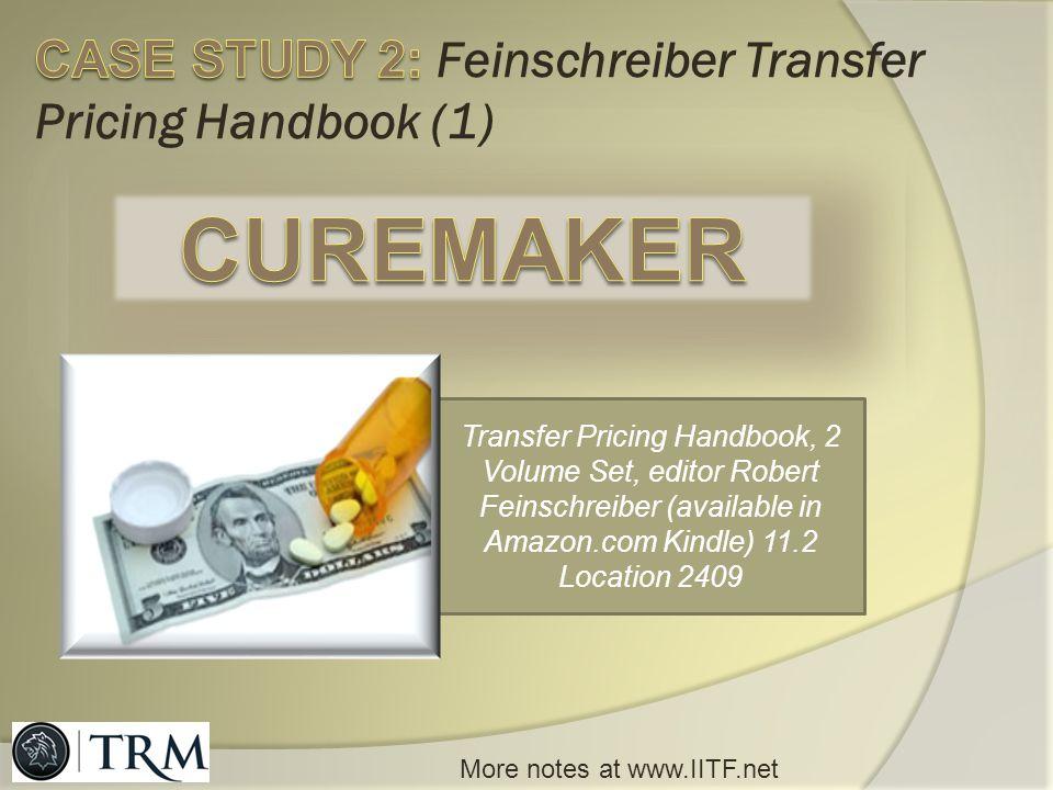 CASE STUDY 2: Feinschreiber Transfer Pricing Handbook (1)