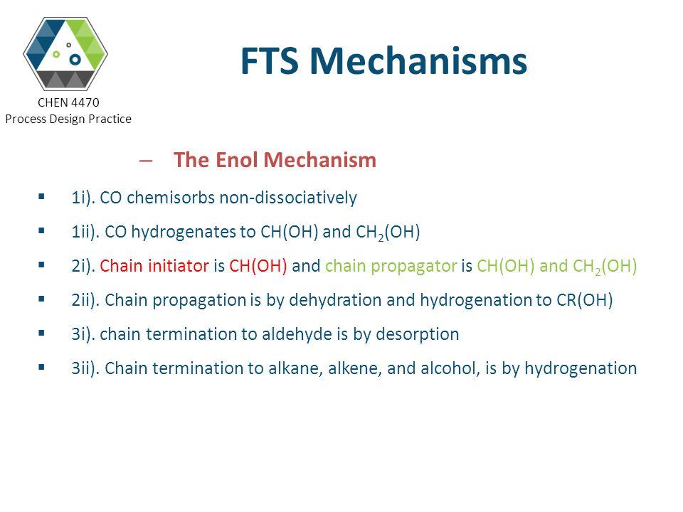 FTS Mechanisms The Enol Mechanism