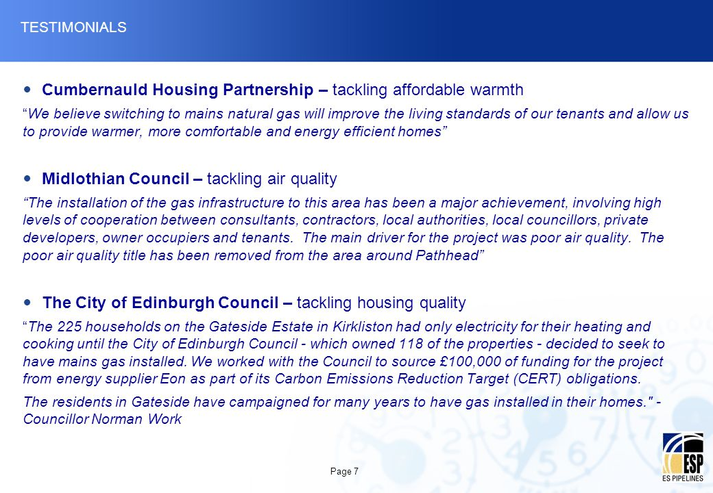 Cumbernauld Housing Partnership – tackling affordable warmth