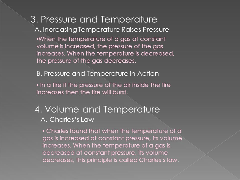 3. Pressure and Temperature