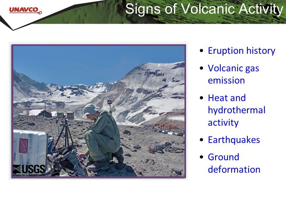 Signs of Volcanic Activity