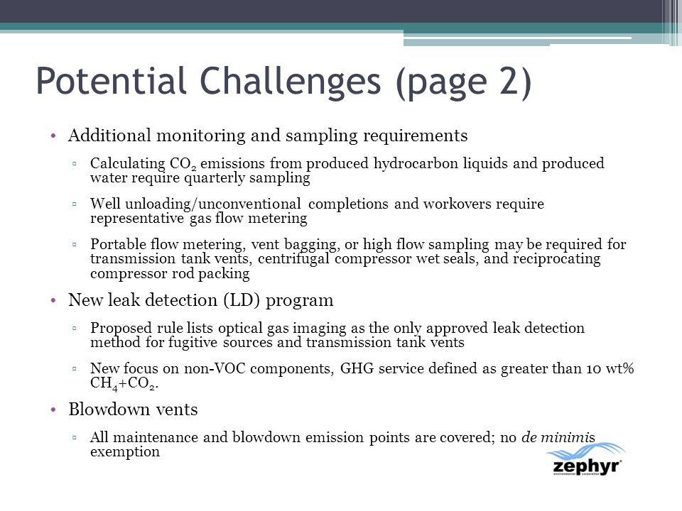 Potential Challenges (page 2)