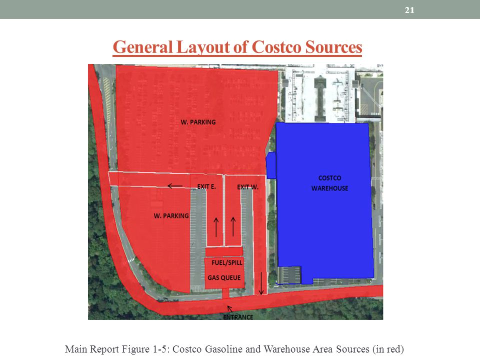 General Layout of Costco Sources