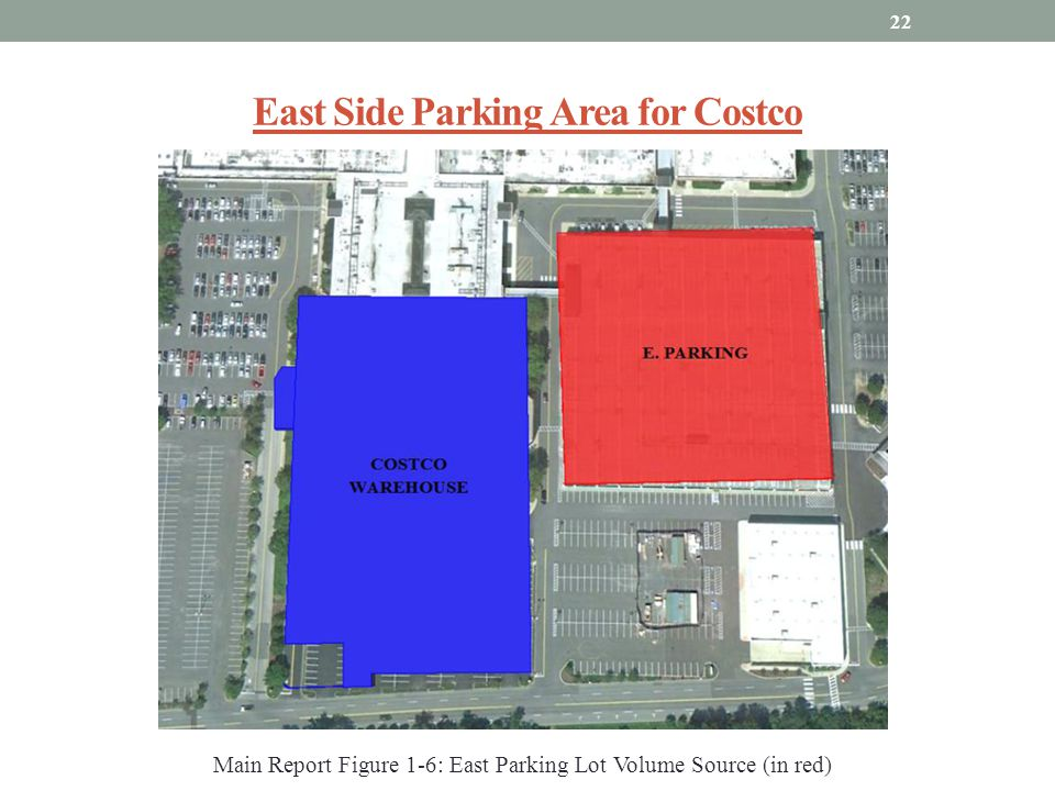 East Side Parking Area for Costco