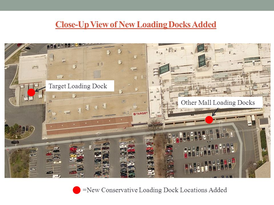 Close-Up View of New Loading Docks Added