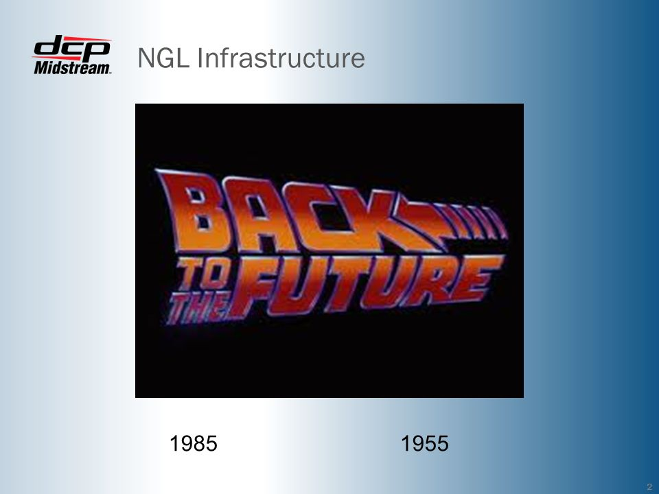 NGL Infrastructure 1985 1955